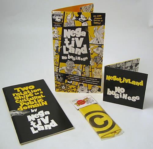 Negativland No Business CD album (CDLP) US NEGCDNO385467