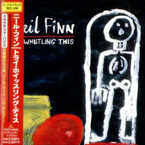 Neil Finn Try Whistling This CD album (CDLP) Japanese NFNCDTR520262