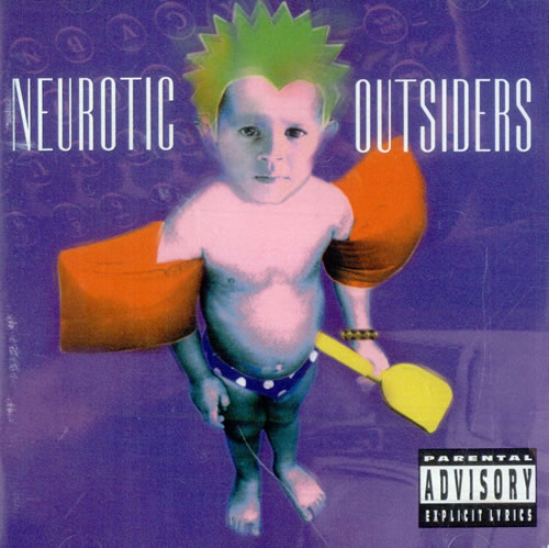 Neurotic Outsiders Neurotic Outsiders CD album (CDLP) German NEUCDNE99000
