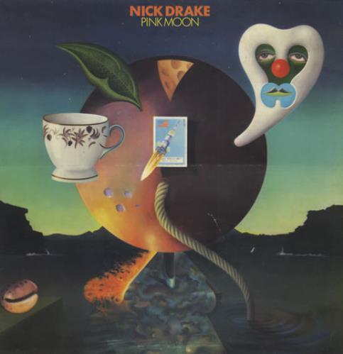 Nick Drake Pink Moon vinyl LP album (LP record) UK N-DLPPI257616