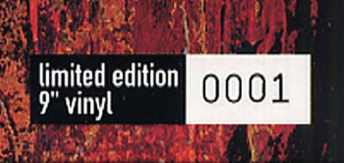 """Nine Inch Nails March Of The Pigs - No 0001 9"""" vinyl single (9"""" record) UK NIN09MA293611"""