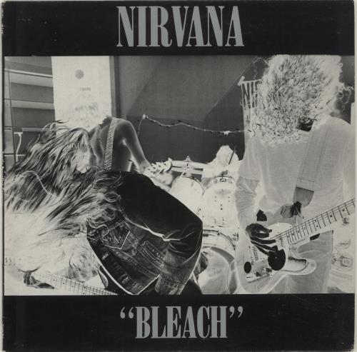 Nirvana (US) Bleach - Green Vinyl vinyl LP album (LP record) UK NIRLPBL70332