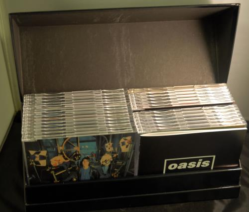 Oasis Complete Single Collection '94-'05 CD Album Box Set Japanese OASDXCO373518