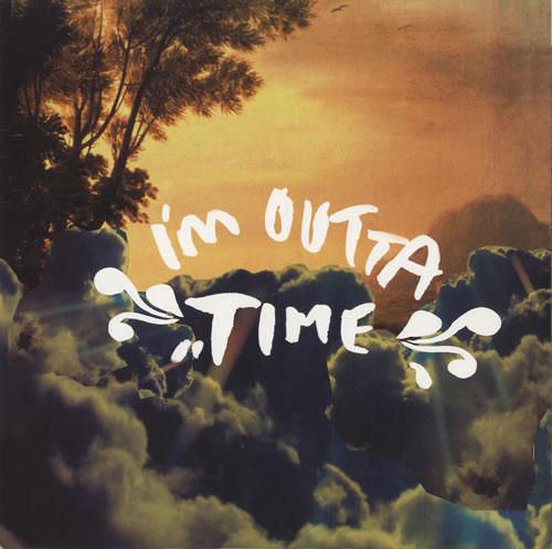 "Oasis I'm Outta Time 12"" vinyl single (12 inch record / Maxi-single) UK OAS12IM468150"