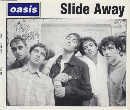 "Oasis Slide Away CD single (CD5 / 5"") UK OASC5SL42722"