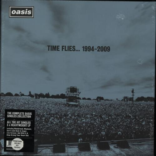 Oasis Time Flies... 1994 - 2000 - Sealed Vinyl Box Set UK OASVXTI509910