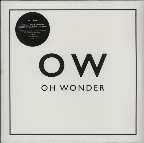 Oh Wonder Oh Wonder - White Vinyl + Sealed 2-LP vinyl record set (Double Album) UK OH02LOH662504