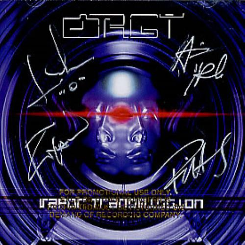 "Orgy Fiction (Dreams In Digital) - AUTOGRAPHED CD single (CD5 / 5"") US RGYC5FI285749"