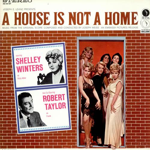 Original Soundtrack A House Is Not A Home vinyl LP album (LP record) US OSTLPAH477075