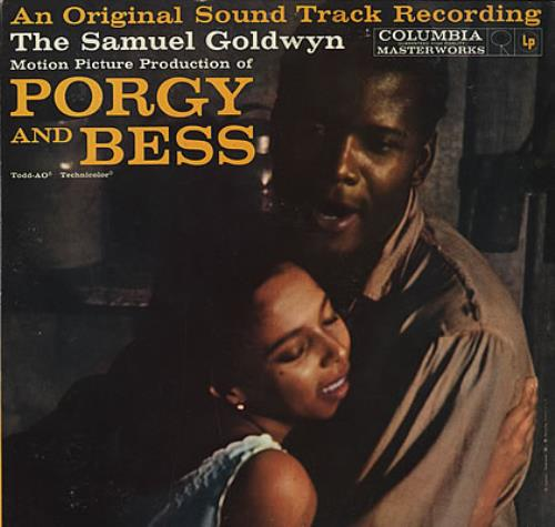 Original Soundtrack Porgy And Bess vinyl LP album (LP record) US OSTLPPO378586