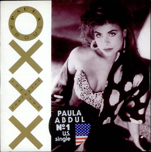 "Paula Abdul Forever Your Girl 7"" vinyl single (7 inch record) UK ABD07FO514821"