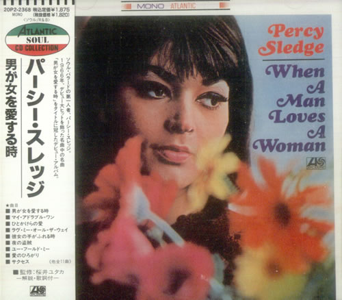 Percy Sledge When A Man Loves A Woman Japanese Cd Album