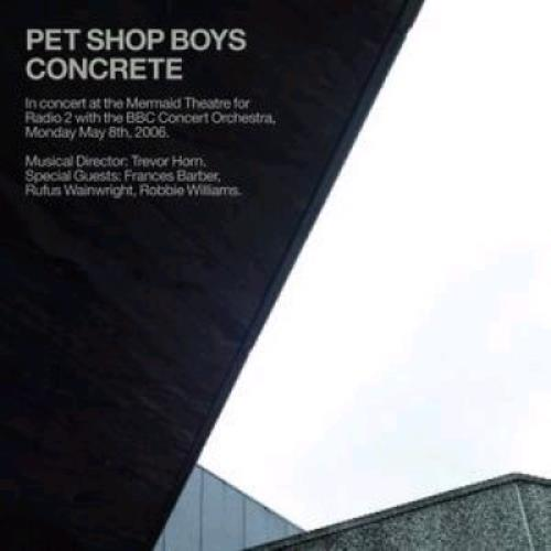 Pet Shop Boys Concrete - In Concert At The Mermaid Theatre 2 CD album set (Double CD) UK PSB2CCO376367