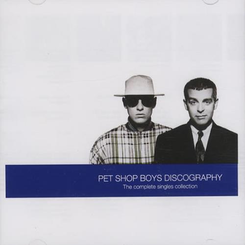 Pet Shop Boys Discography CD album (CDLP) UK PSBCDDI225411