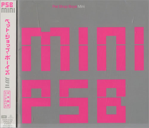 Pet Shop Boys Mini Album CD album (CDLP) Japanese PSBCDMI148695