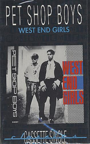 Pet Shop Boys West End Girls - Sealed cassette single US PSBCSWE14018