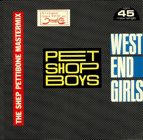 "Pet Shop Boys West End Girls - Shep Pettibone Remix 12"" vinyl single (12 inch record / Maxi-single) German PSB12WE04195"