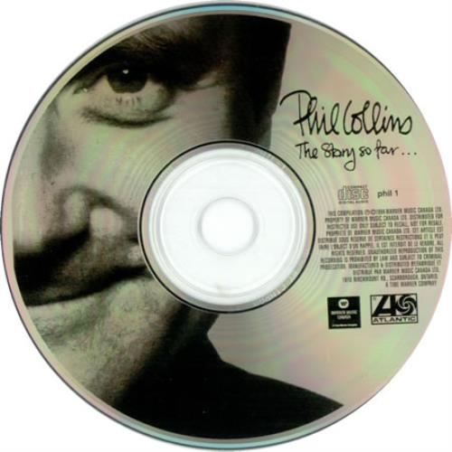 Phil Collins The Story So Far... CD album (CDLP) Canadian COLCDTH149374