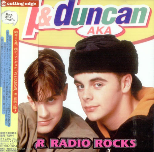 PJ & Duncan Our Radio Rocks CD album (CDLP) Japanese PJDCDOU142000