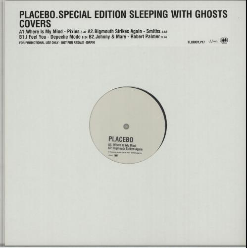 "Placebo Covers - Special Vinyl Format 12"" vinyl single (12 inch record / Maxi-single) UK CEB12CO259278"