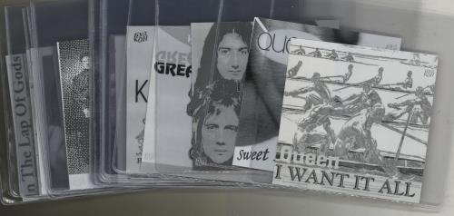 "Queen A Collection of 53 Flexi-Discs 7"" vinyl single (7 inch record) Russian QUE07AC648662"