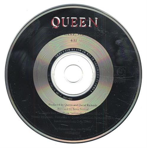 "Queen I Can't Live With You CD single (CD5 / 5"") US QUEC5IC07744"