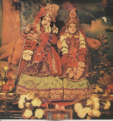 Radha Krishna Temple The Radha Krsna Temple + Insert & Press Release vinyl LP album (LP record) UK RKTLPTH346946