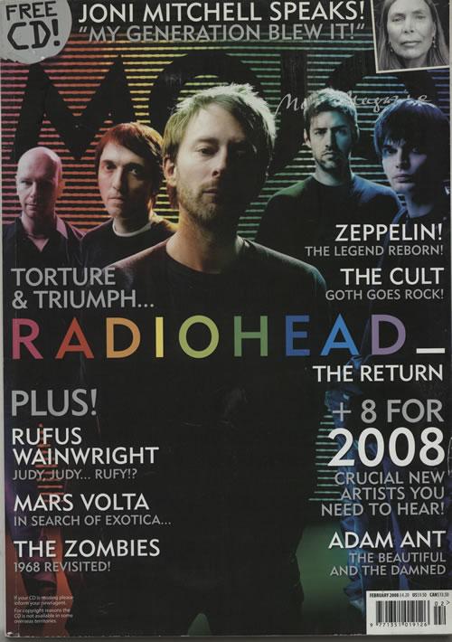 Radiohead Mojo magazine UK R-HMAMO642081