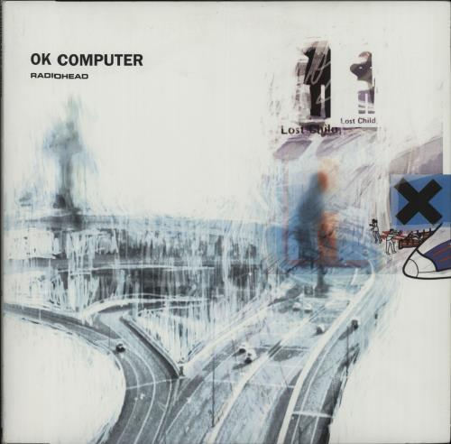 Radiohead OK Computer - 180gm 2-LP vinyl record set (Double Album) US R-H2LOK667088