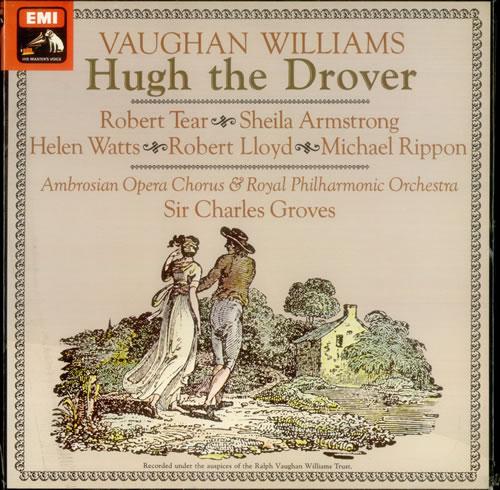 Ralph Vaughan Williams Hugh the Drover - Factory Sample 2-LP vinyl record set (Double Album) UK VB72LHU538721