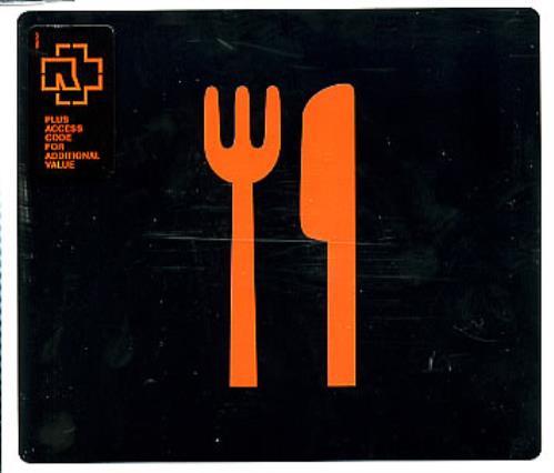 """Rammstein Mein Teil CD single (CD5 / 5"""") German RMMC5ME299407"""