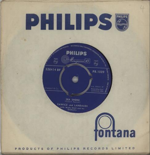 "Rawicz And Landauer Sea Shore 7"" vinyl single (7 inch record) UK R+L07SE669158"