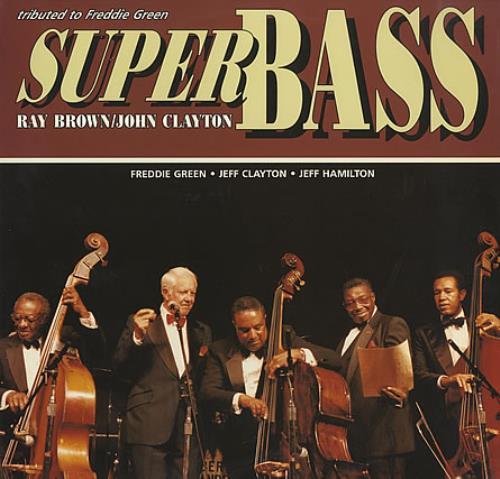 Ray Brown Super Bass - 180gm vinyl LP album (LP record) US OWNLPSU400897