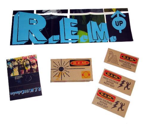 REM Fan Club Christmas Packs 1988-2011 memorabilia US REMMMFA558395