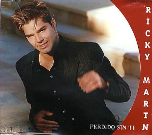 "Ricky Martin Perdido Sin Ti CD single (CD5 / 5"") Mexican RKMC5PE146342"