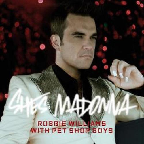 Robbie Williams She's Madonna 2-CD single set (Double CD single) UK RWI2SSH390509
