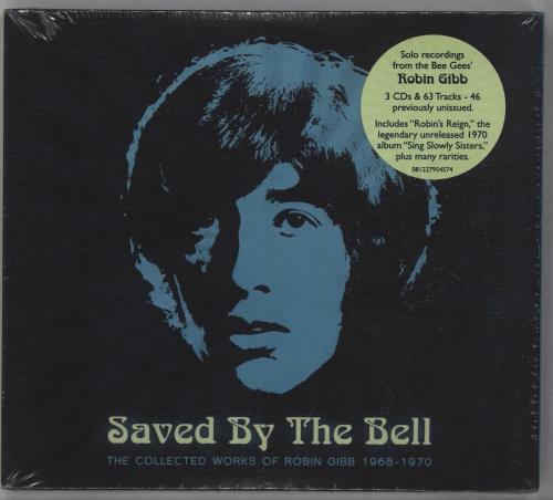 Robin Gibb Saved By The Bell - The Collected Works Of Robin Gibb 1968-1970 3-CD album set (Triple CD) UK RGI3CSA673521