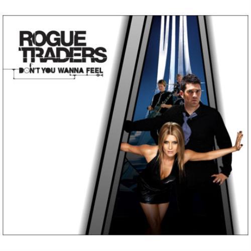 "Rogue Traders Don't You Wanna Feel CD single (CD5 / 5"") Australian RW5C5DO415417"