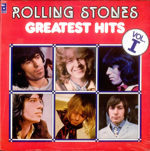 Rolling Stones Greatest Hits Volume I & II - Sealed 2-LP vinyl record set (Double Album) Canadian ROL2LGR531899