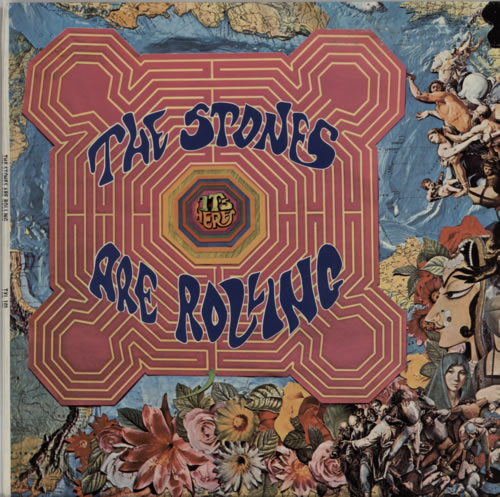 Rolling Stones The Stones Are Rolling vinyl LP album (LP record) South African ROLLPTH361602