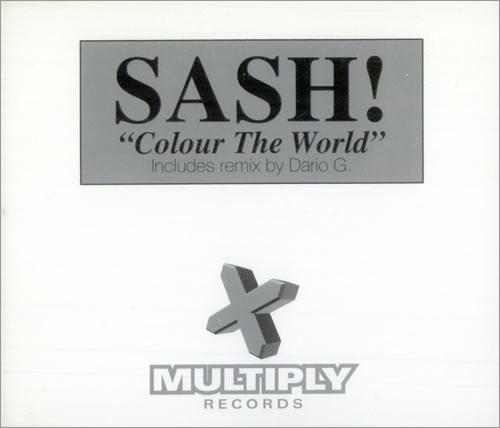"Sash! Colour The World CD single (CD5 / 5"") UK SS!C5CO135063"