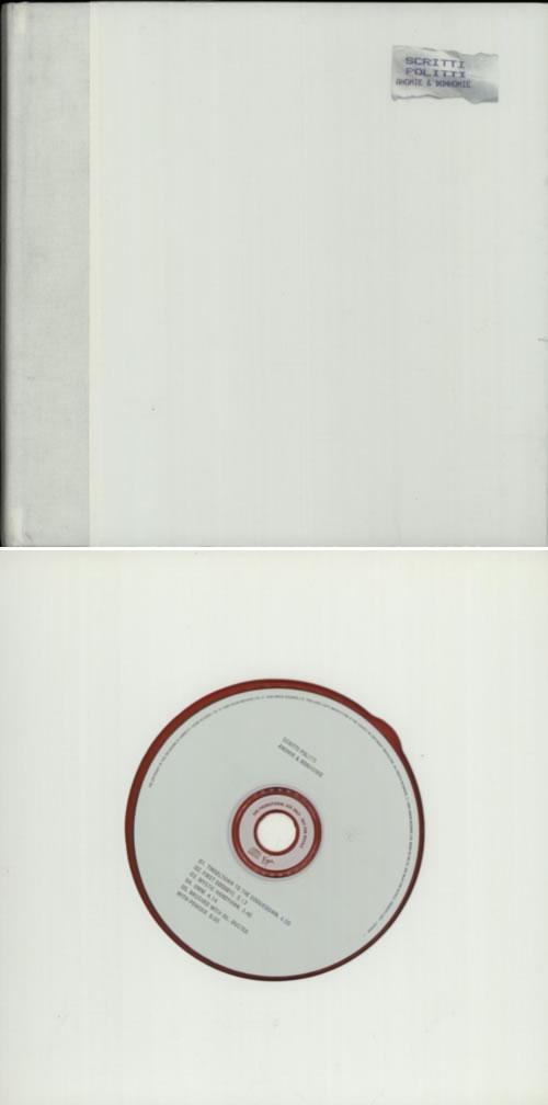 Scritti Politti Anomie & Bonhomie - Autographed book UK SCRBKAN141182