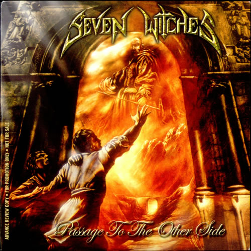 Seven Witches Passage To The Other Side CD album (CDLP) UK UEVCDPA517419