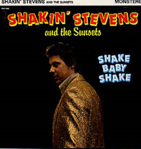 Shakin Stevens Shake Baby Shake French Vinyl Lp Album Lp
