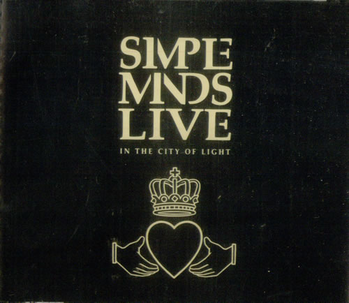 Simple Minds Live In The City Of Light 2 CD album set (Double CD) Japanese SIM2CLI545216