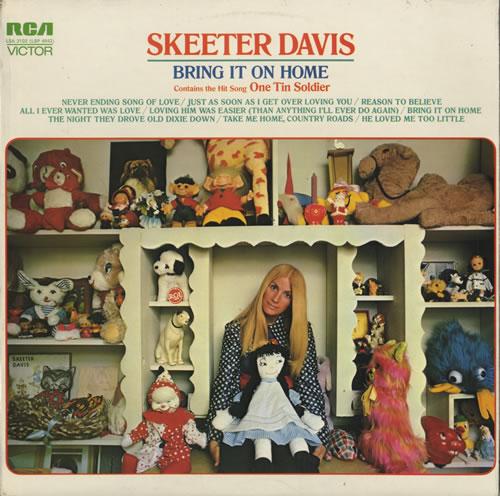 Skeeter Davis Bring It On Home vinyl LP album (LP record) UK SK5LPBR484217