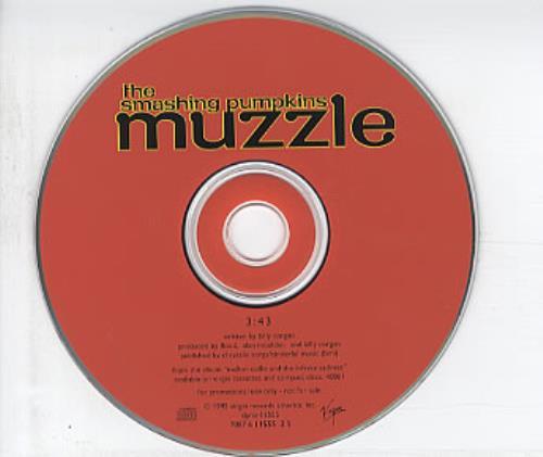 "Smashing Pumpkins Muzzle CD single (CD5 / 5"") US SMPC5MU74899"