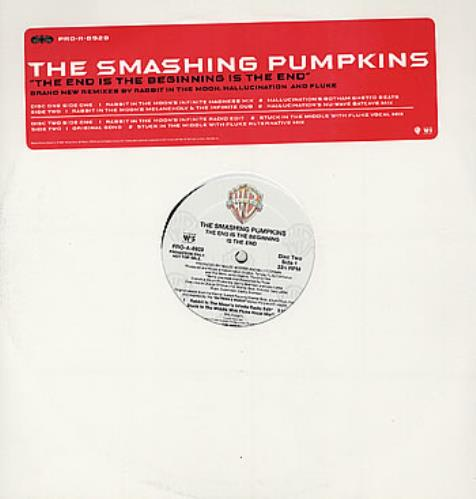 """Smashing Pumpkins The End Is The Beginning Is The End 12"""" vinyl single (12 inch record / Maxi-single) US SMP12TH93122"""