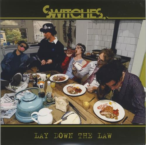 "Switches Lay Down The Law 7"" vinyl single (7 inch record) UK SW807LA397401"