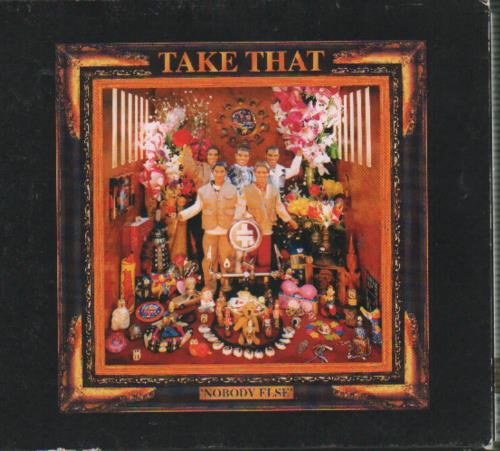 Take That Nobody Else + Slip Case CD album (CDLP) Japanese TAKCDNO40527